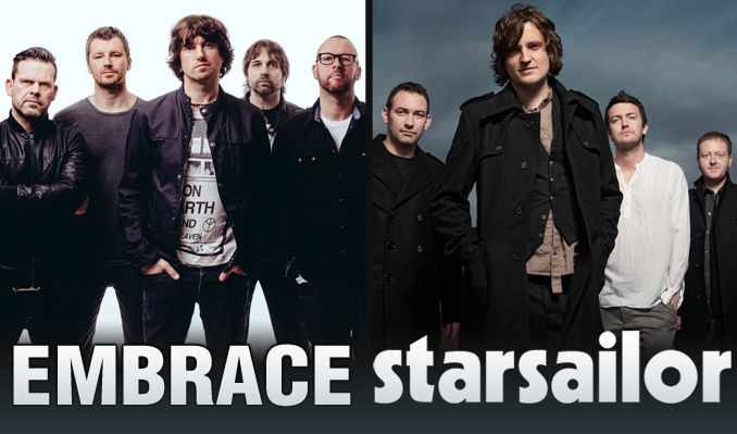 Two Harbors at Mill City Sound with Embrace and Starsailor 6/9